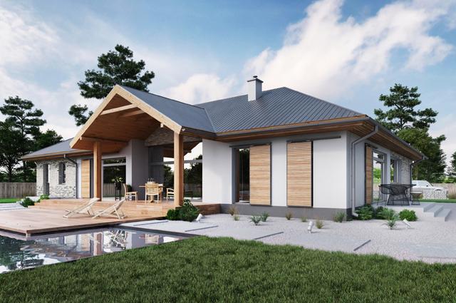 projekt domu Adelajda