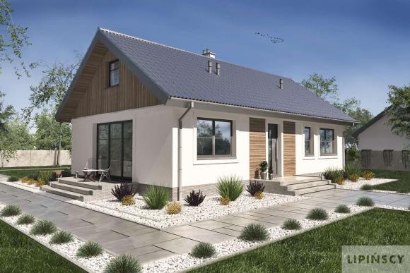 projekt domu Corte IV lmb62c Lipińscy Domy