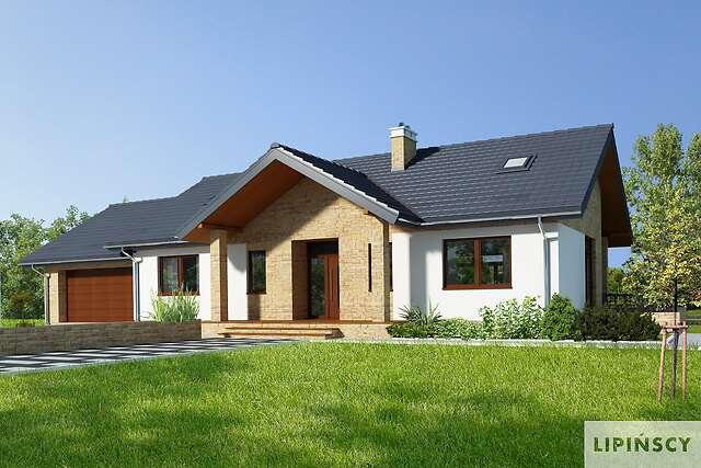 Ekonomiczne I Wygodne Projekty Parterowe Lipińscy Domy