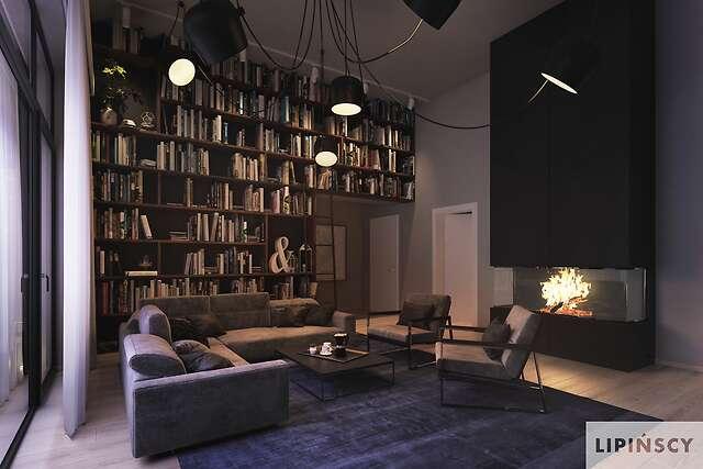 Zobacz powiększenie wizualizacji wnętrza - projekt Vitrac
