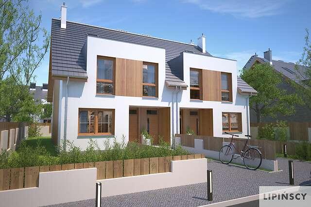 Projekty Domów Bliźniaczych I Dwulokalowych Lipińscy Domy