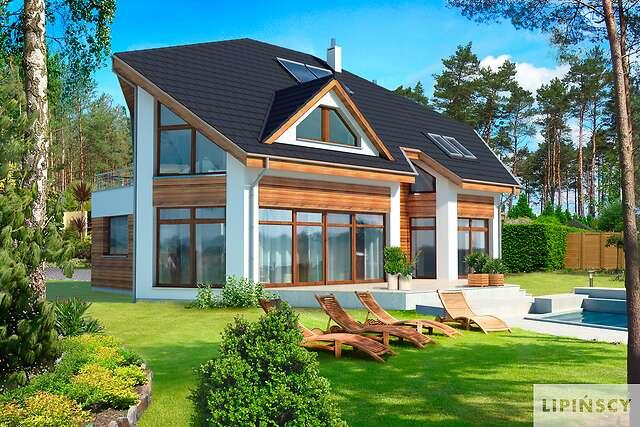 Zobacz powiększenie wizualizacji ogrodowej - projekt Sondenberg