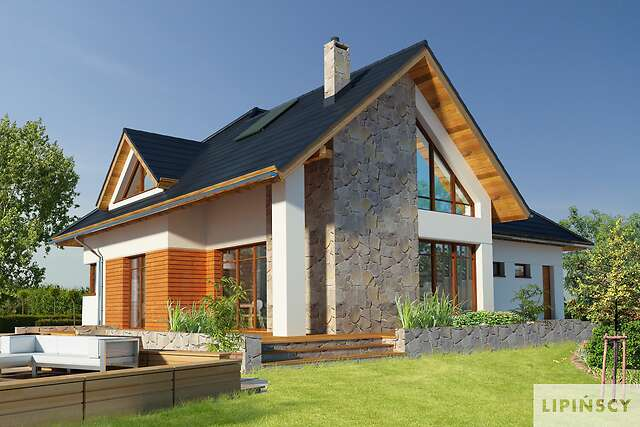 Zobacz powiększenie wizualizacji ogrodowej - projekt Avalon V