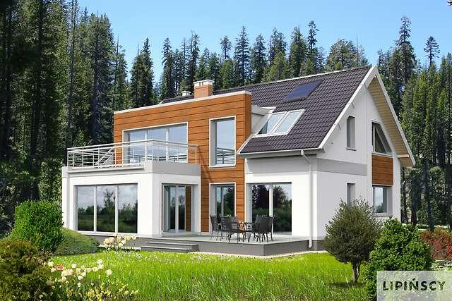 Zobacz powiększenie wizualizacji ogrodowej - projekt Essen