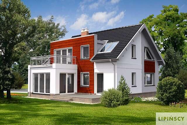 Zobacz powiększenie wizualizacji ogrodowej - projekt Essen II