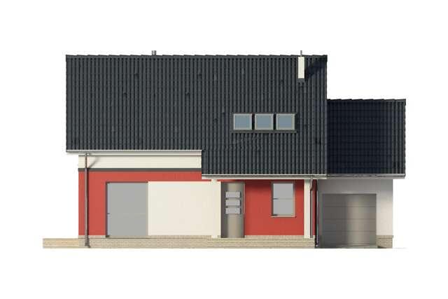 Zobacz powiększenie elewacji frontowej - projekt Cottbus
