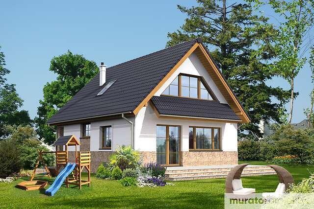 Zobacz powiększenie wizualizacji ogrodowej - projekt Gładki w.e