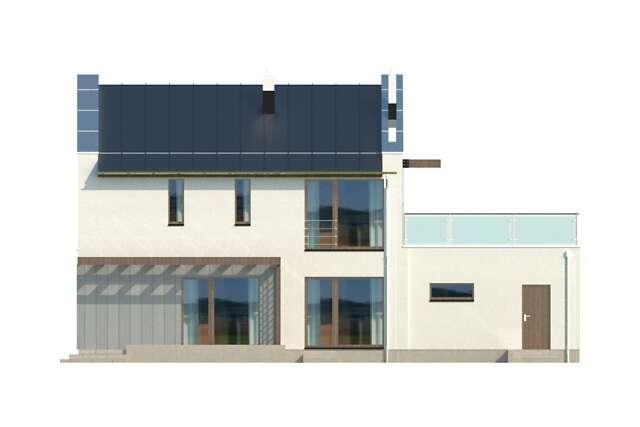 Zobacz powiększenie elewacji ogrodowej - projekt Belfast IV