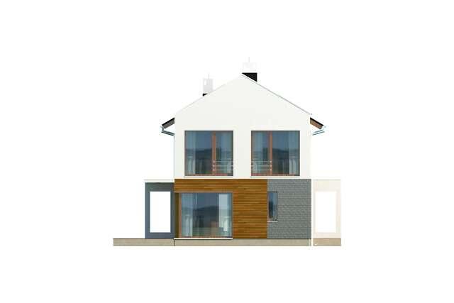 Zobacz powiększenie elewacji ogrodowej - projekt Belfast V