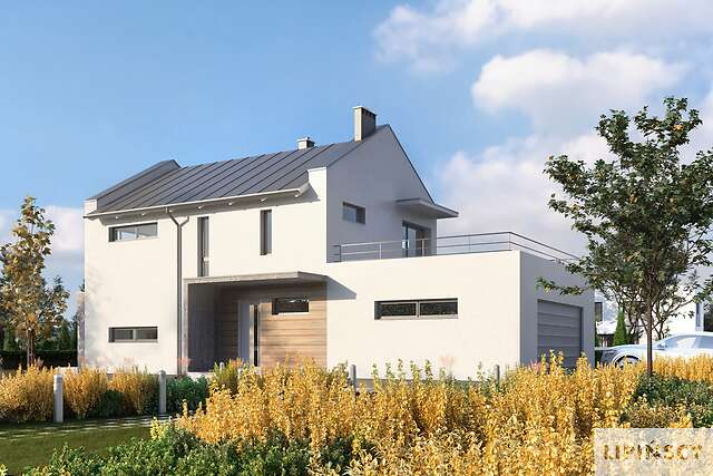 Projekt domu - DCP268h-Belfast IX