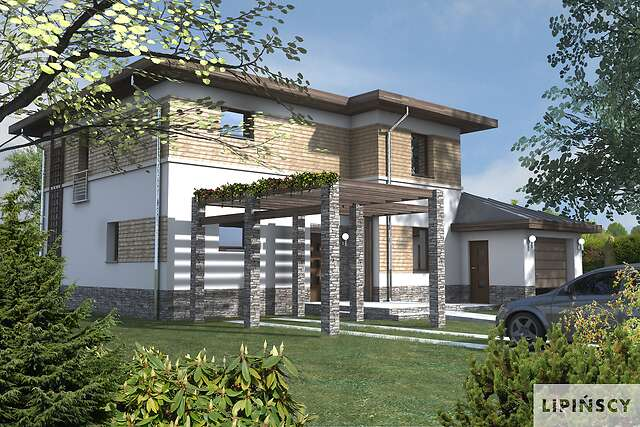 Zobacz powiększenie wizualizacji frontowej - projekt Amalfi