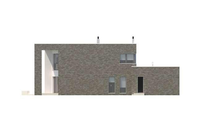 Zobacz powiększenie elewacji ogrodowej - projekt Limerick