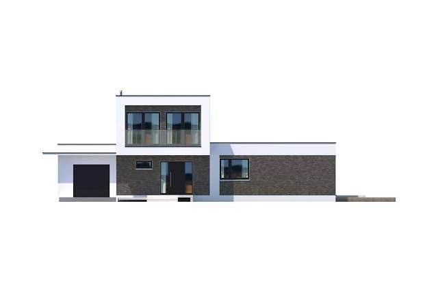 Zobacz powiększenie elewacji frontowej - projekt Concord