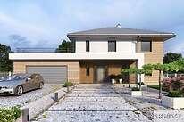 Projekt domu - DCP332b-Carrara III