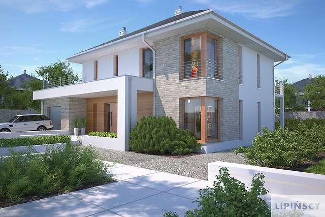 Zobacz powiększenie wizualizacji frontowej - projekt Carrara IV