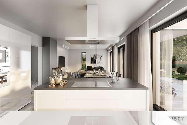 Zobacz powiększenie wizualizacji wnętrza - projekt Carrara V