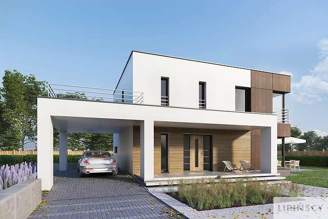Projekt domu - DCP332d-Carrara V