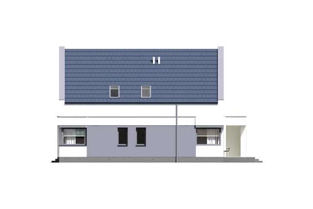 Zobacz powiększenie elewacji bocznej prawej - projekt Olten