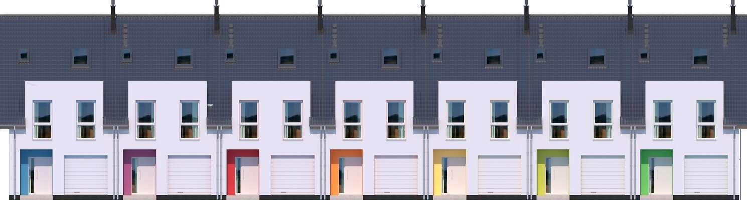 Elewacja frontowa - projekt Edmonton