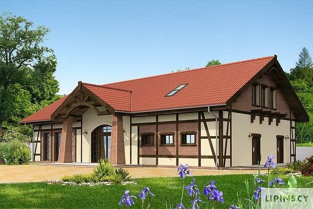 Zobacz powiększenie wizualizacji frontowej - projekt Budynek usługowy Orzeł