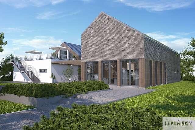 Zobacz powiększenie wizualizacji ogrodowej - projekt Budynek usługowy Jastrząb