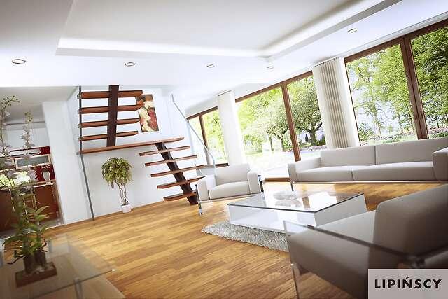 Zobacz powiększenie wizualizacji wnętrza - projekt Darmstadt Pasywny 2