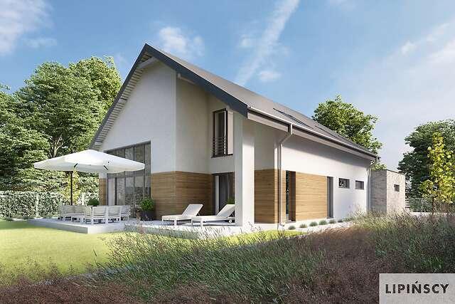 Zobacz powiększenie wizualizacji ogrodowej - projekt Sligo Pasywny 9