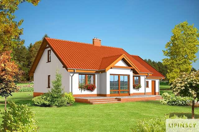 Zobacz powiększenie wizualizacji ogrodowej - projekt Frankfurt IV
