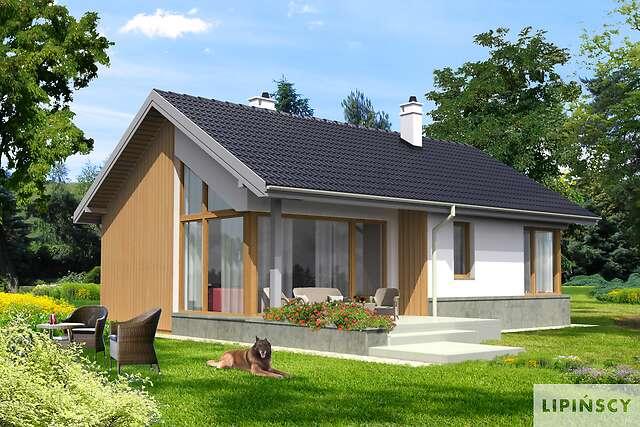 Zobacz powiększenie wizualizacji ogrodowej - projekt Todi