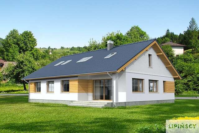 Zobacz powiększenie wizualizacji ogrodowej - projekt Aosta