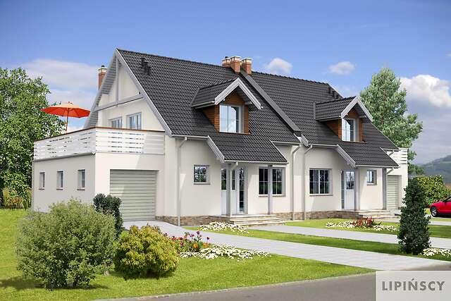 Projekty Domów Bliźniaczych I Dwulokalowych Lipińscy Domy Strona 3