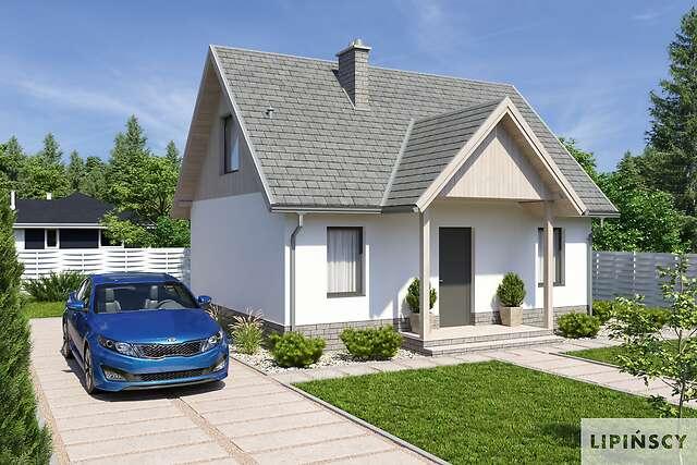 Bogata Kolekcja Projektów Z Poddaszem Lipińscy Domy