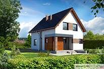 Projekt domu - Murator C305-Galowy