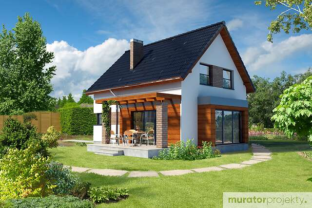 Zobacz powiększenie wizualizacji ogrodowej - projekt Galowy